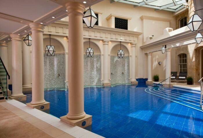 The Gainsborough spa hotel UK swimming pool
