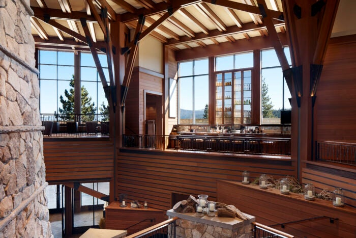 Highlands Bar Ritz-Carlton Lake Tahoe
