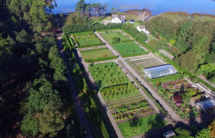 Kitchen garden at The Torridon hotel
