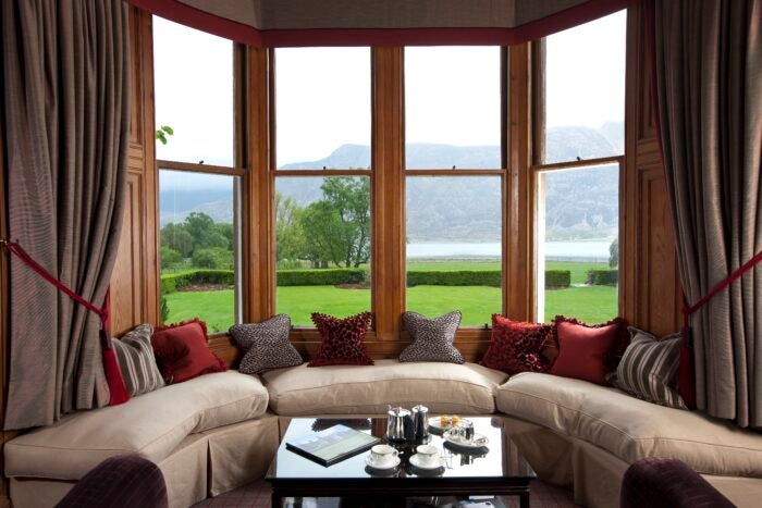 The Torridon Lounge view