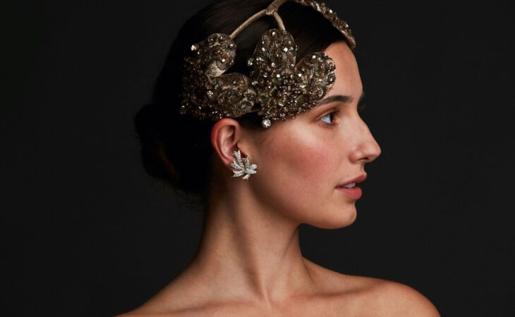Tattiana du Plessix for Saks Fifth Avenue Headpiece