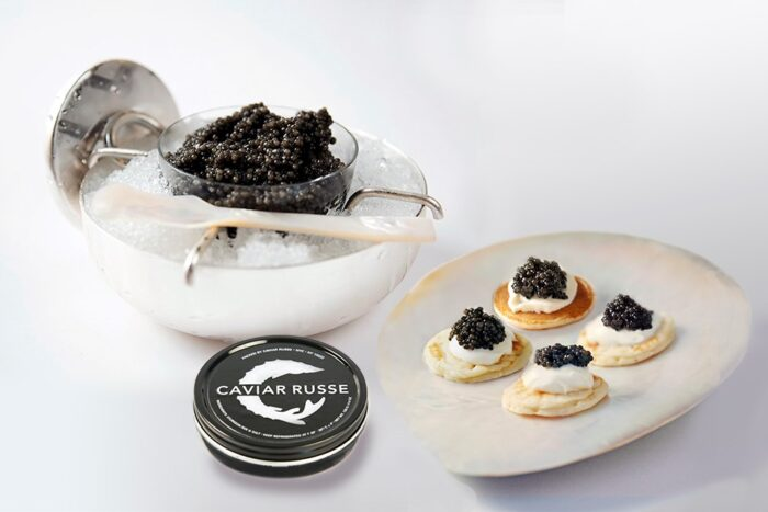 Jubilant collection caviar set in gift guide