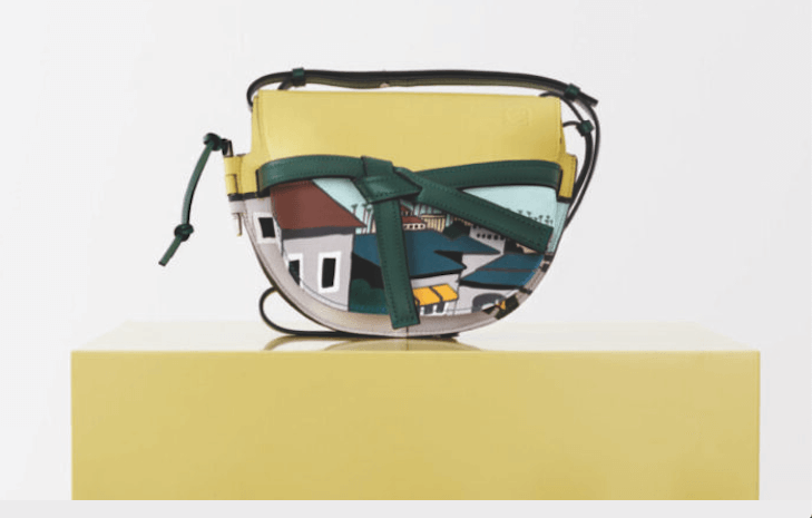saddle bag by loewe