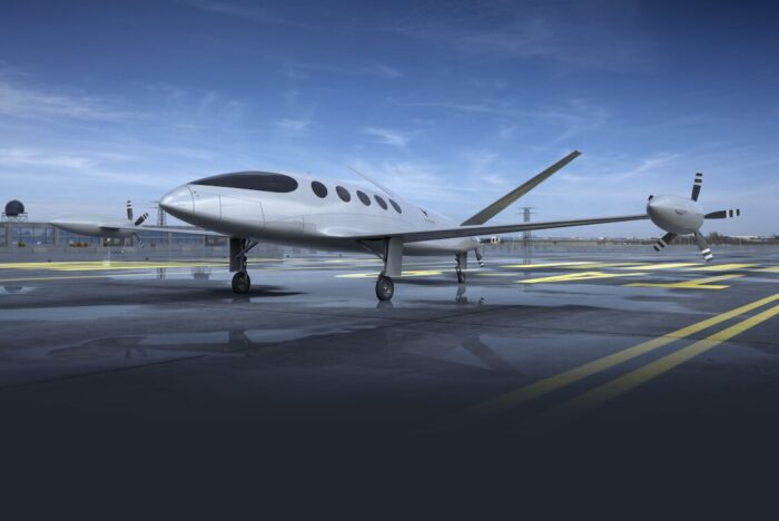 alice by eviation electric private jet