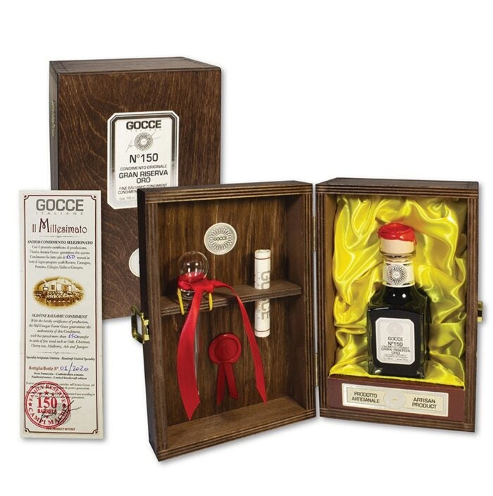 gocce balsamic gift set