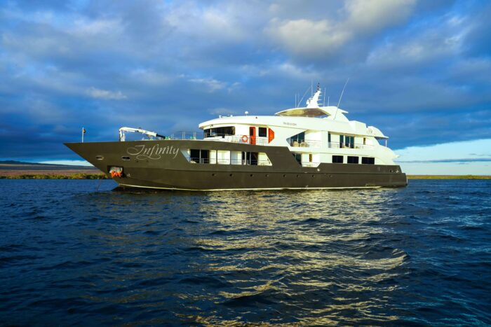 private yacht in Galapagos islands