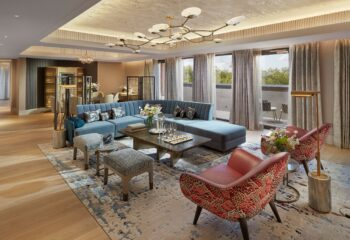 mandarin oriental penthouse suite UK