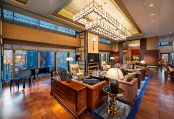 Brand in the World's Top Suites