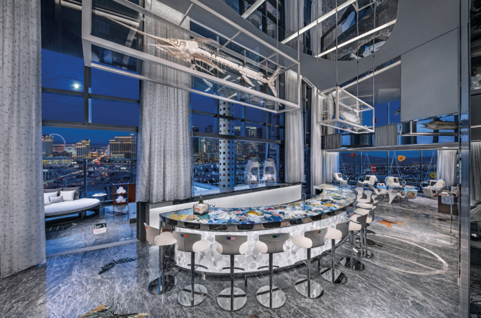 empathy suite bar palms resort las vegas most expensive suite in US