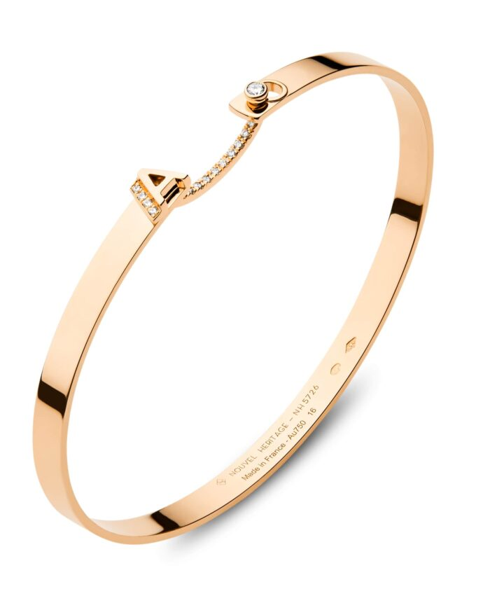 nouvel heritage initial bangle luxury gifts for her