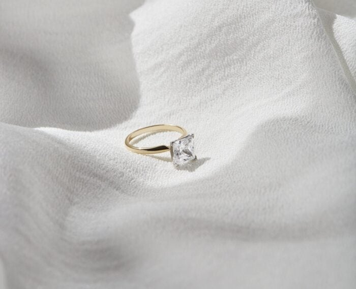 great heights sustainable engagement ring
