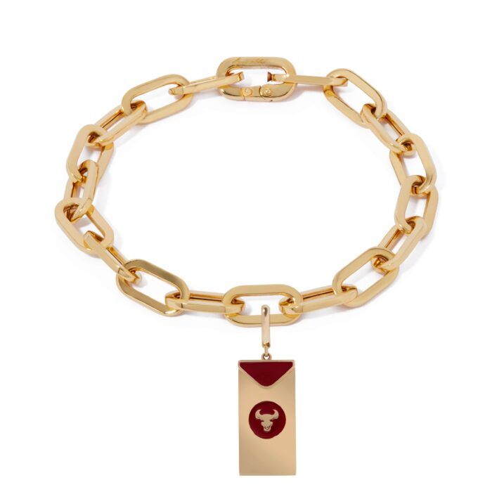 annsoushka year of the ox charm bracelet