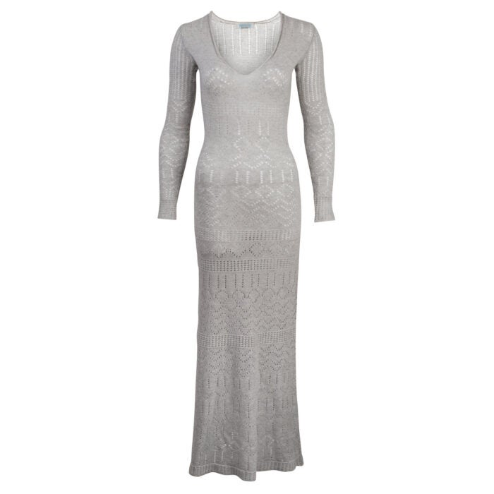 Mandkhai grey Romance Dress