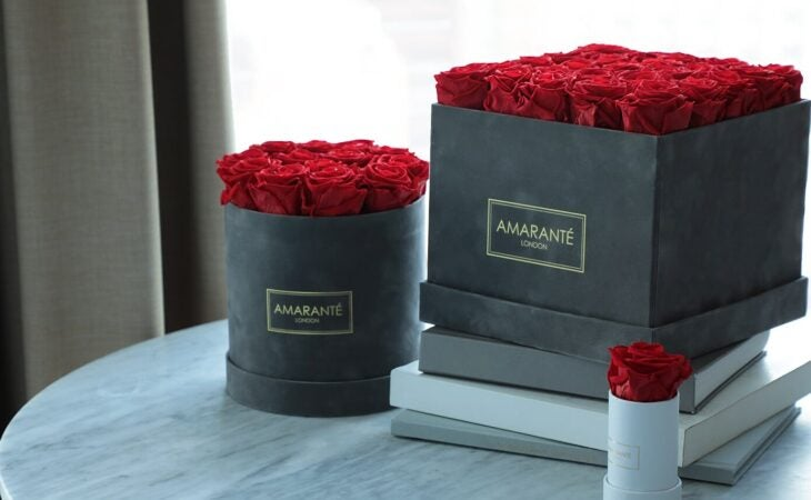 infinity roses in luxury valentine's gifts for her