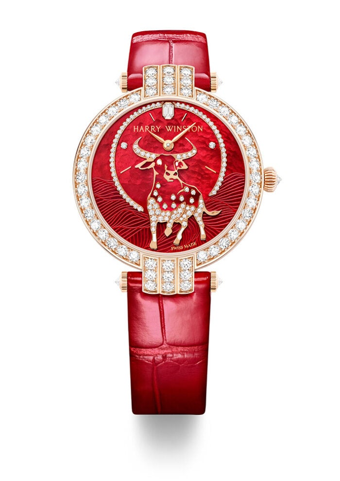 harry winston lunar new year watch gift