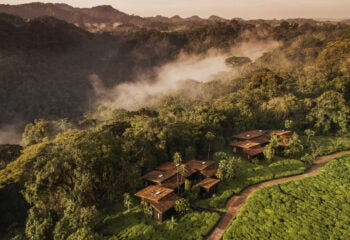 one&only Nyungwe House rwanda from above