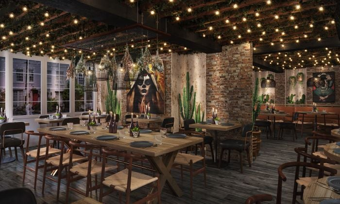 Dining room at Los Mochis - Markus Thesleff