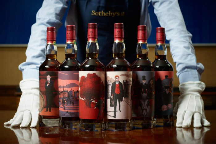 Macallan Red Collection - six bottles of whisky