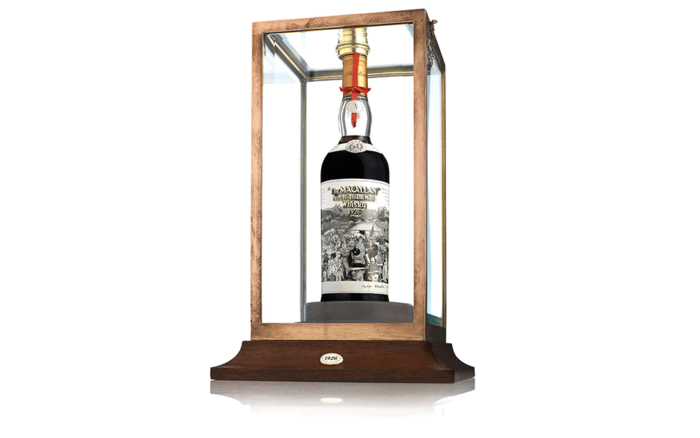 The Macallan Peter Blake Bottle - One of the most expensive whiskies ever sold auction