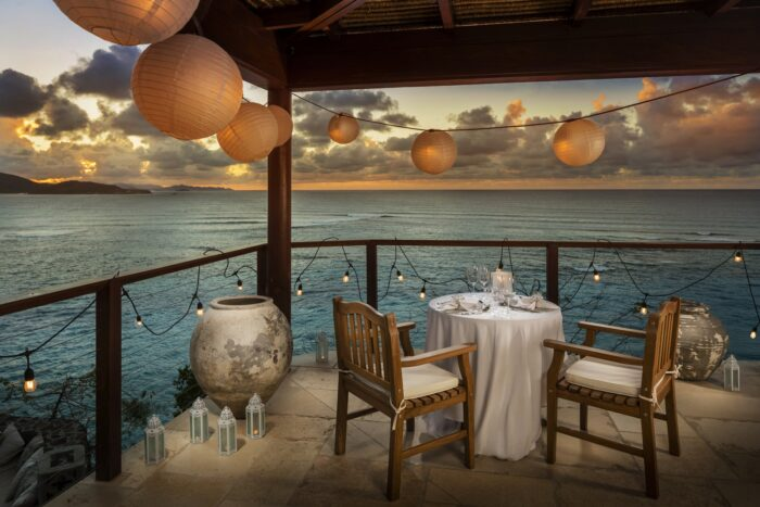great house private dining necker island