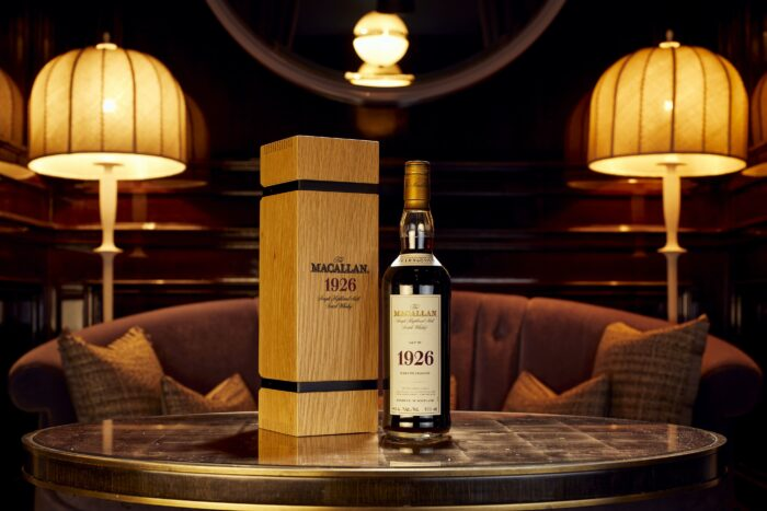 Macallan 60 year old Scotch