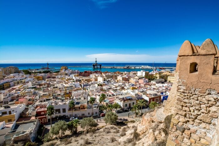 almeria city break option in spain