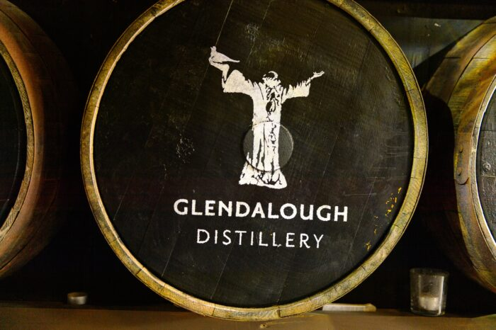 glendalough irish whiskey distillery barrel