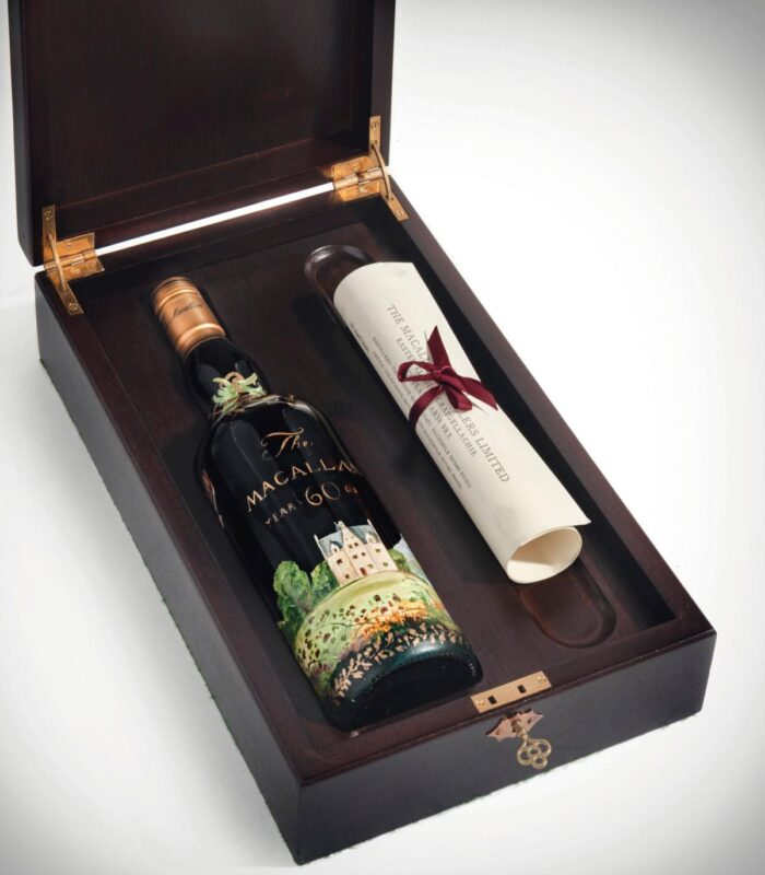 The Macallan Michael Dillon in Presentation Box - Most expensive whisky