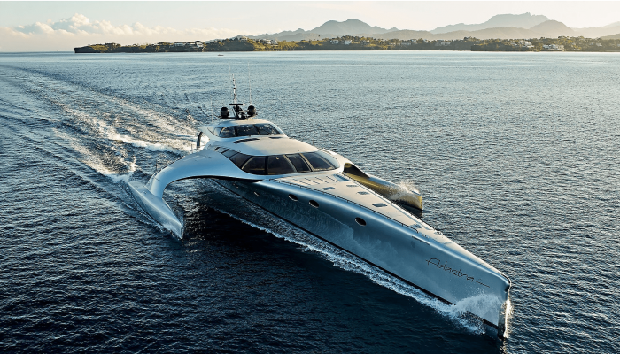 adastra yacht fore
