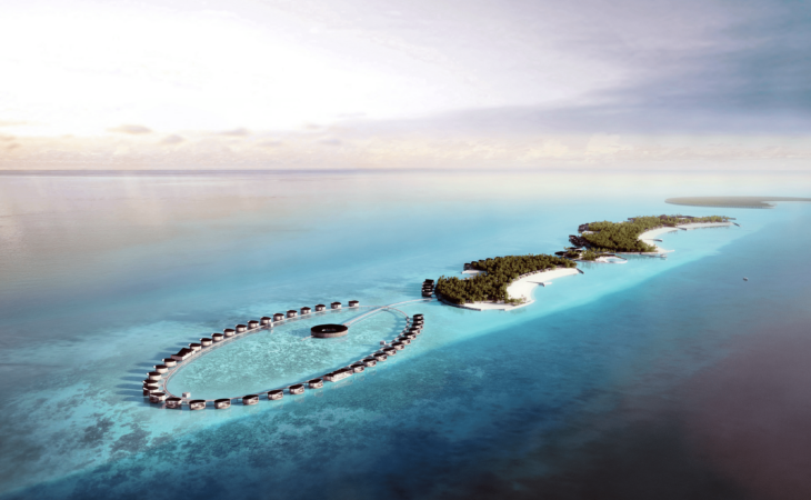 ritz carlton maldives from above launch ambassadors of the environment