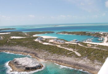 Cave Cay, a private island for sale in the Bahamas