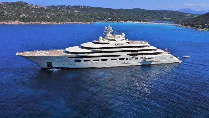 Dillbar yacht - biggest superyachts in the world