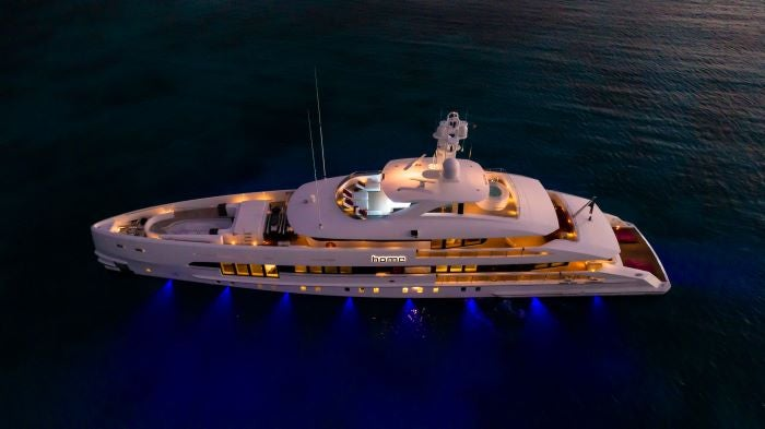 Home - Hybrid superyacht