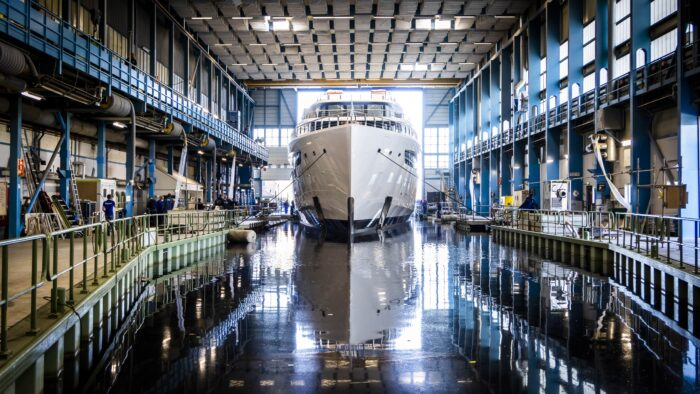 feadship project 817 superyacht