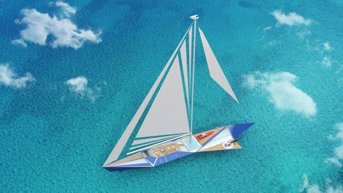 superyacht concepts : Project Origami
