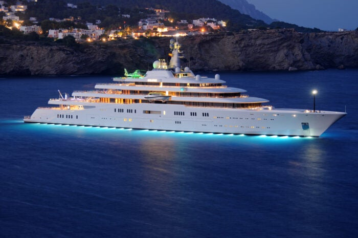 Superyacht Eclipse- one of the biggest superyachts in the world
