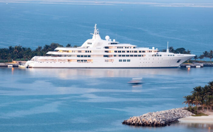 Dubai Yacht - one of the biggest superyachts in the world