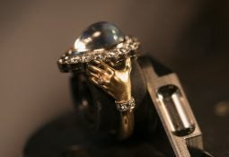 anthony lent clasped hands ring