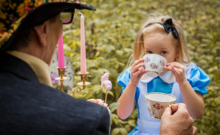 Alice at Tea Party