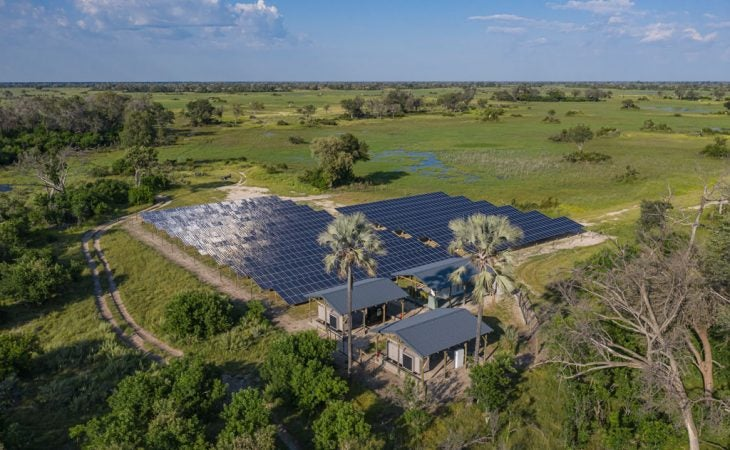 Red Carnation Hotels Botswana Solar Field