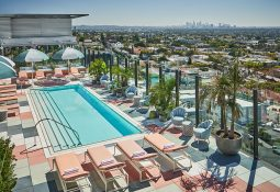 Pendry West Hollywood Rooftop Pool