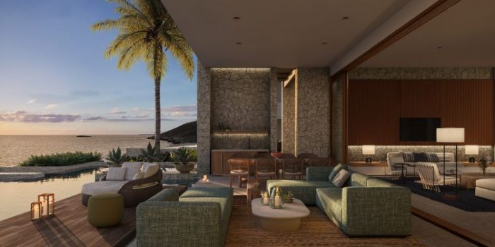 Rendering of the Grand Residence's terrace