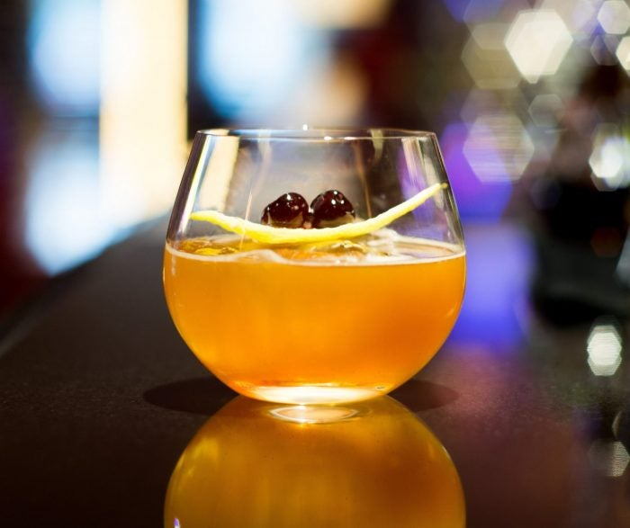smoke and mirrors cocktail by bar 45