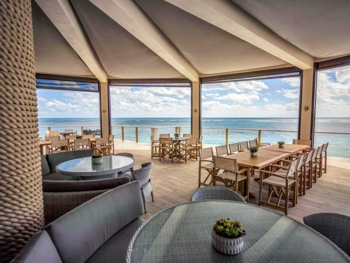 the culinary series at the pink beach club restaurant at the loren