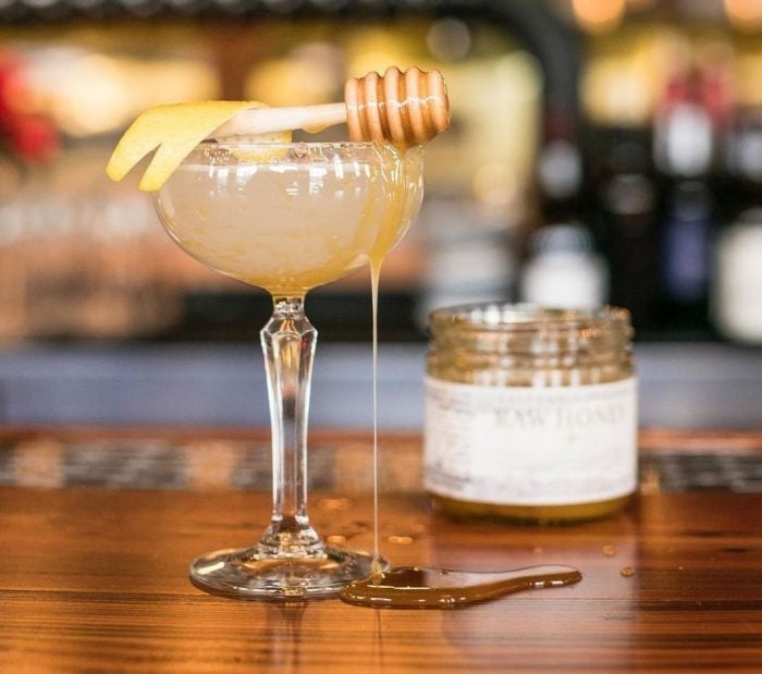 bees knees gin cocktail