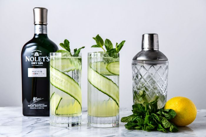 the silver smash cocktail by nolets