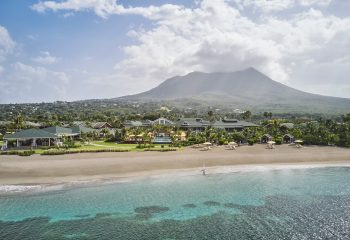 Four Seasons Nevis View from Ocean