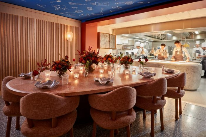 Chef's Table at Helen Darroze - Three-Michelin-Star Restaurants in the UK
