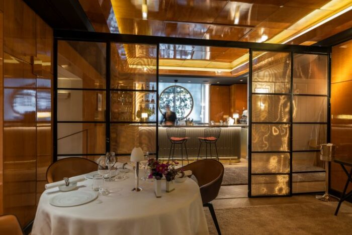 Pierre Gagnaire private dinning space