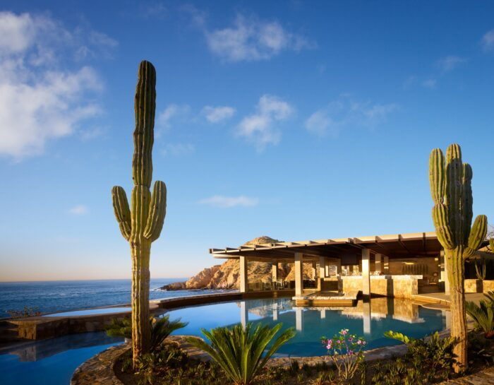 montage los cabos pool area and sea view